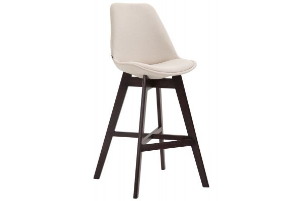Barhocker Cannes Stoff Cappuccino creme