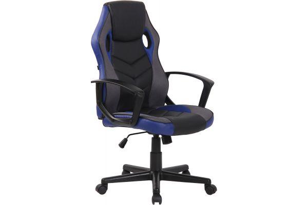 Bürostuhl Glendale schwarz/blau