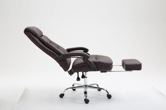 Sgabello sedia da ufficio hades in similpelle con