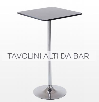 Tavolini alti da bar